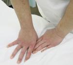 手技療法メインで施術。